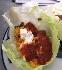 ketogenic diet lettuce wraps