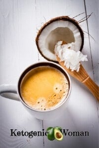 Keto Coffee with Coconut Oil