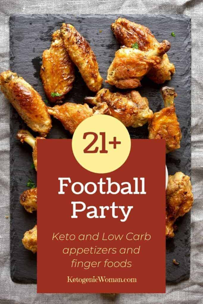 football party chicken wings