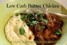 Low Carb Keto Indian Butter Chicken Recipe