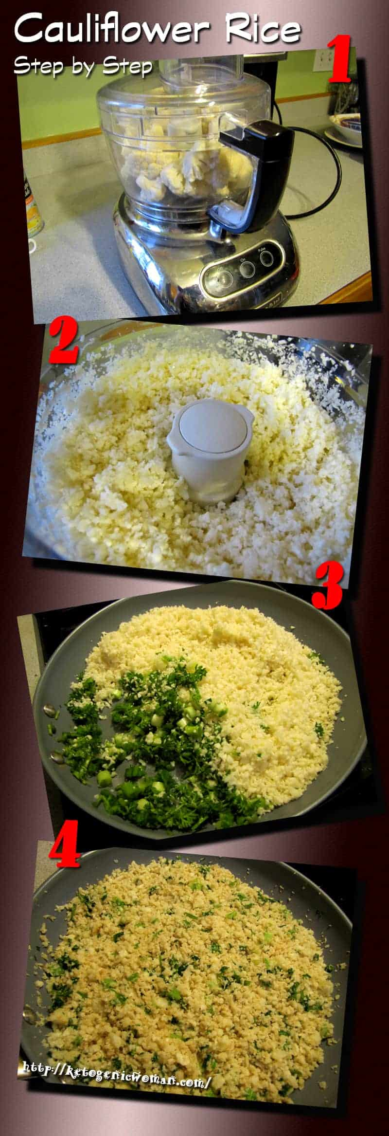 Cauliflower Rice and Potatoes Tutorial - Low Carb and Gluten Free ...