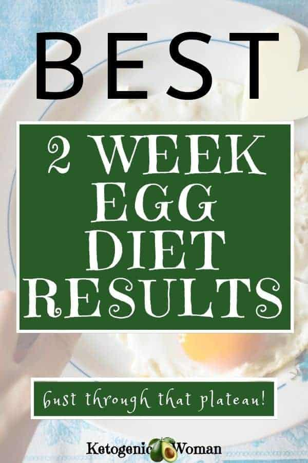 2 week egg diet results