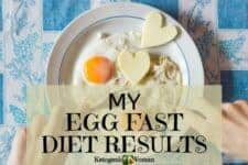 My Egg Fast Diet Results