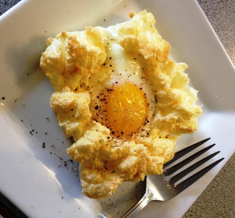 egg fast egg puff