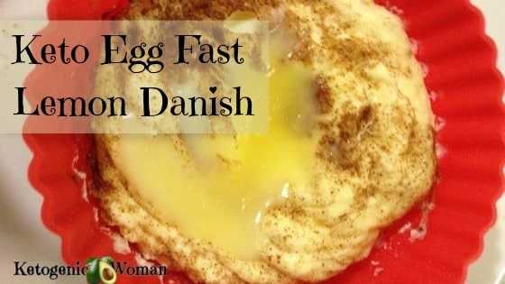 Low Carb Egg Fast Lemon Danish