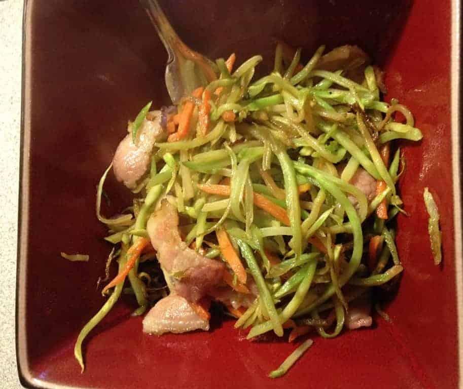 Crack Slaw Recipe : 5 Minute Bacon Broccoli Crack Slaw - Ketogenic Woman