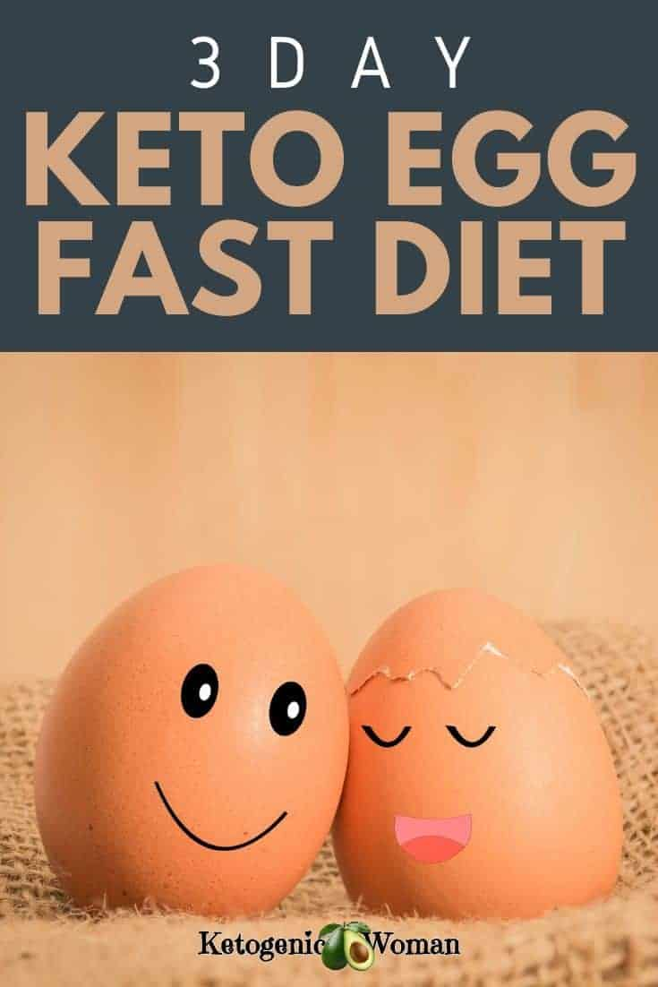 3 day keto egg fast diet recipes