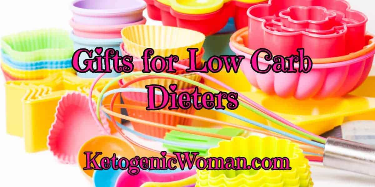 Gift ideas for low carb and keto dieters. Find the perfect gift for a low carb or Keto dieter. There are some great suggestions here, you may even want one yourself!