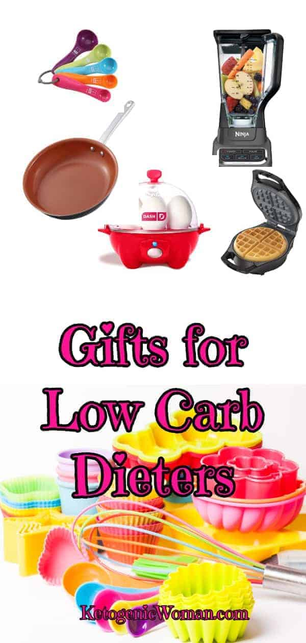 Fantastic Gift Ideas for People who do Low Carb and Keto Diets