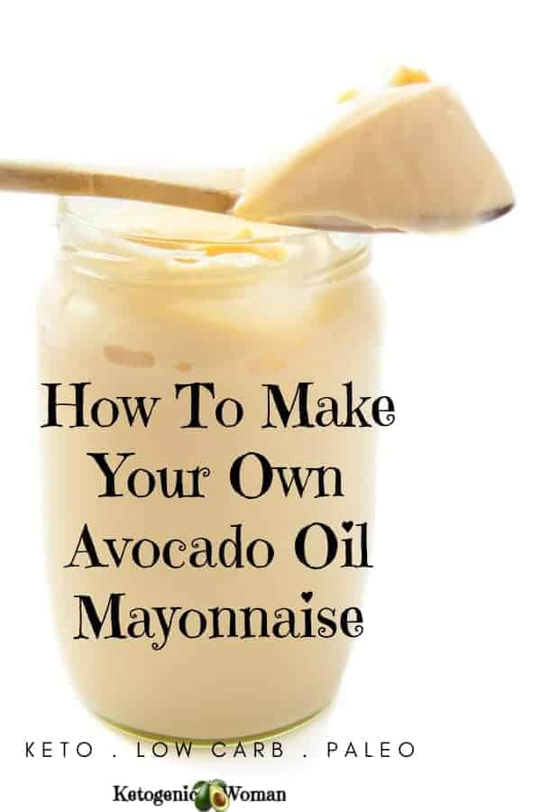 Try this healthy, delicious and easy keto avocado oil mayo recipe today. It can be used if you are on an egg fast as well. Your whole family will want avocado oil mayonnaise on just about everything they eat after you make this just once!