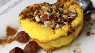 Mascarpone Hazelnut Low Carb Cheesecake Muffins