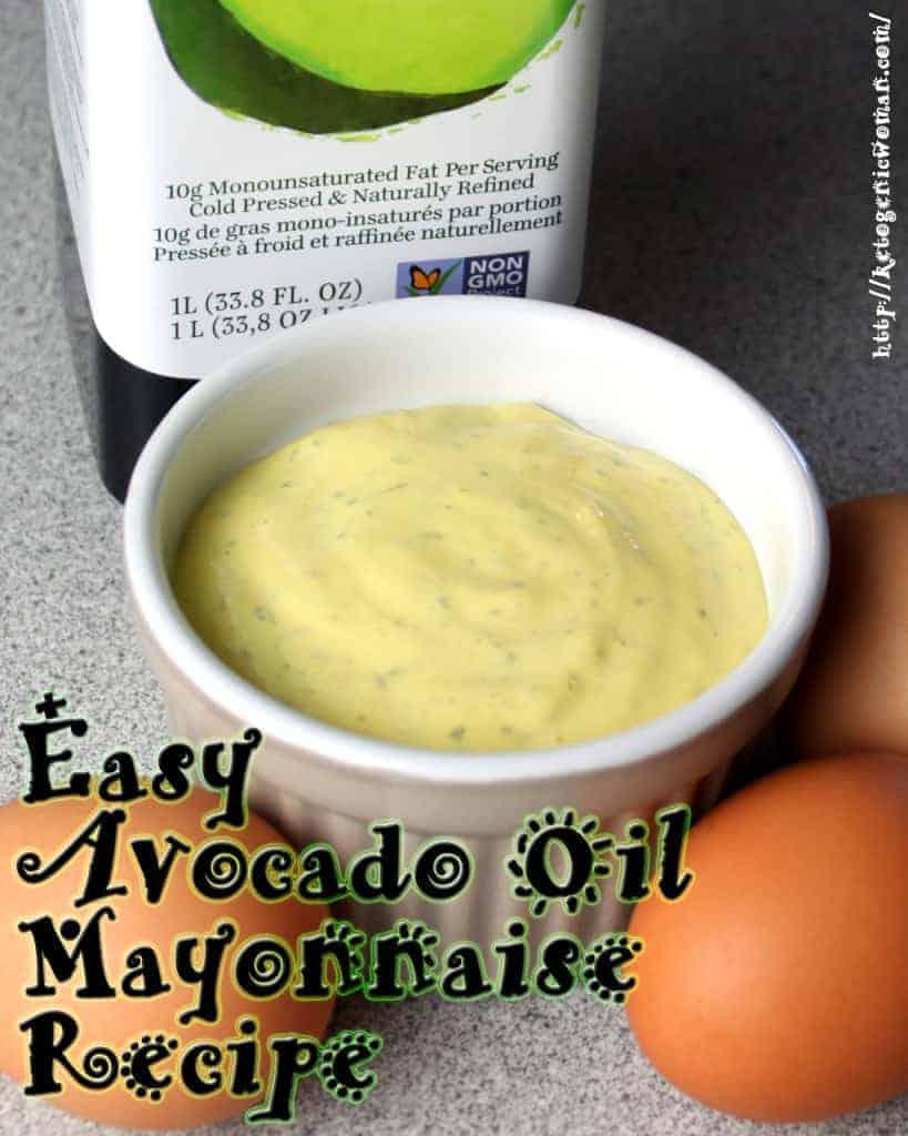 avocado oil mayonnaise recipe