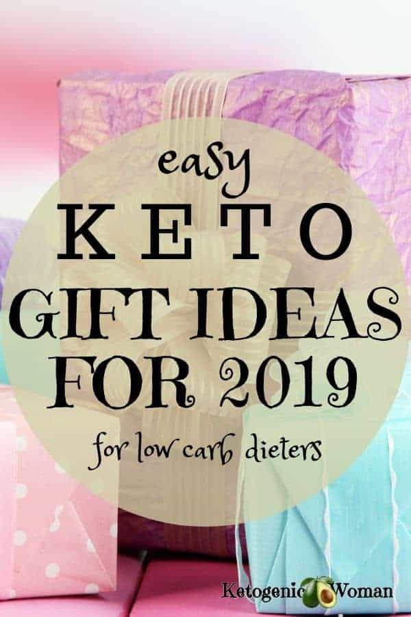 Easy keto gift ideas for low carb dieters.