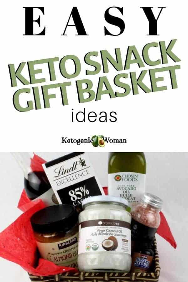 Keto snack gift basket