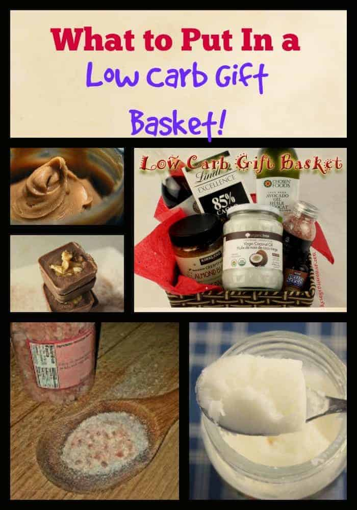 What to Put Into a Low Carb Gift Basket - Ketogenic Woman