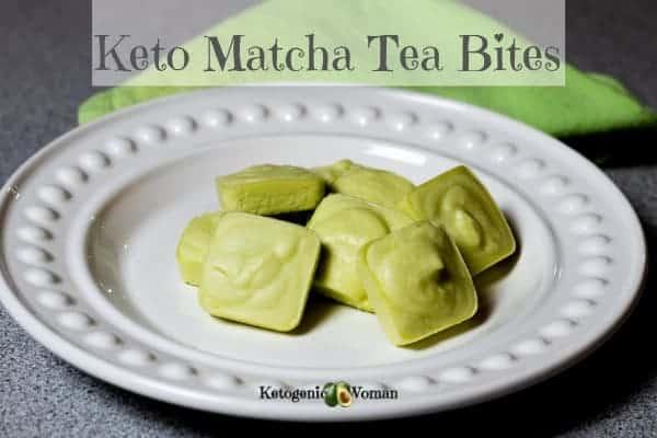 Keto Matcha Cheesecake Fat Bombs