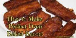 Oven Baked Bacon Recipe