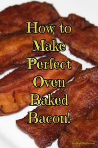 Crispy Oven Bacon Recipe