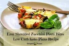 This Easy Baked & Shredded Zucchini bites recipe is healthy, low carb, and Keto. Is Zucchini okay on Keto? Heck Yeah! As far as easy simple zucchini recipes go, this one takes first prize. Save this recipe today to keep in your healthy Keto zucchini recipes book. Printable available in the post.