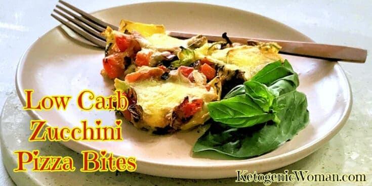 Low Carb Zucchini Pizza Bites Recipe