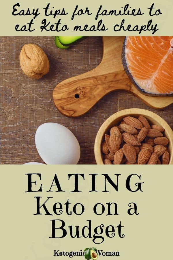 eating keto on a budget - pinterest pin image (1)