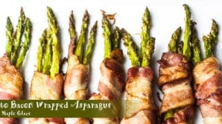 Keto Bacon Wrapped Asparagus Recipe