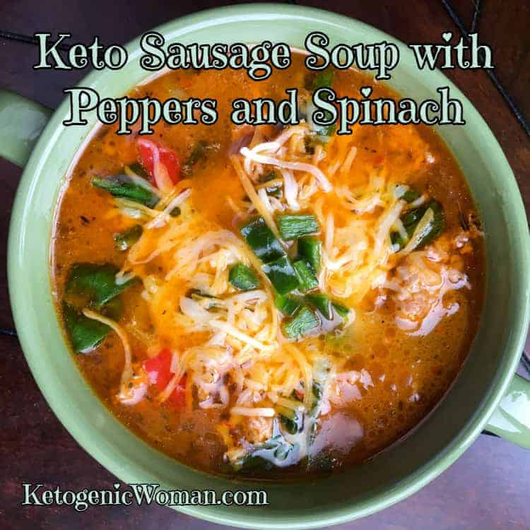 Keto Sausage Soup Recipe