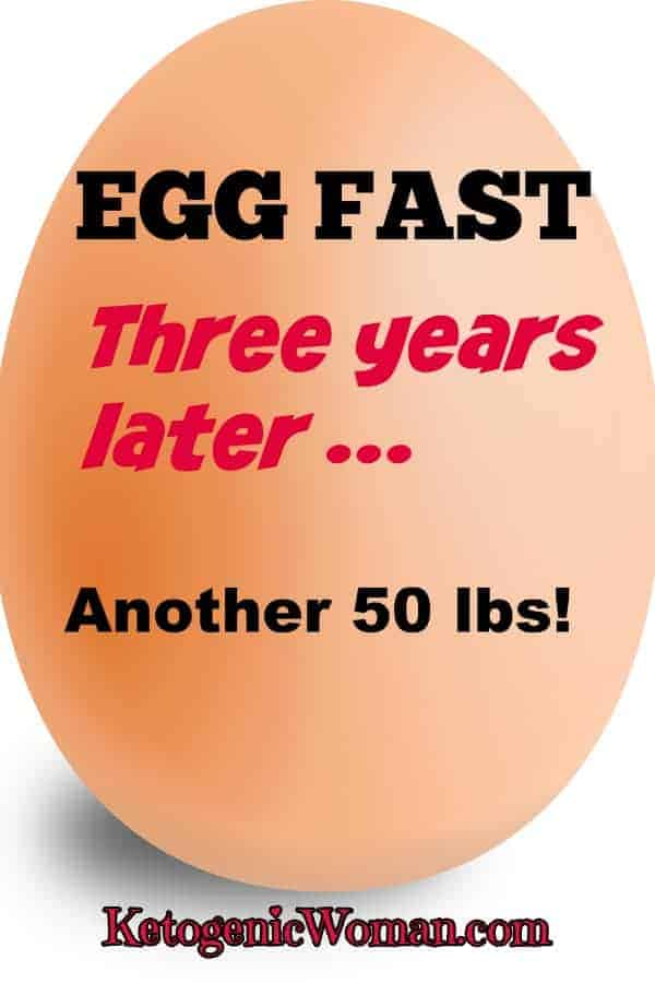 Egg Fast Diet Results 3 years later!