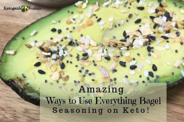 Ways to use Everything Bagel Seasoning mix on Keto