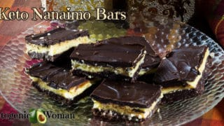 Keto Nanaimo Bar Recipe - Low Carb and Gluten Free