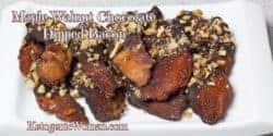 Keto Chocolate Dipped Bacon