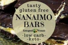 Low carb nanaimo bars recipe? No way! Try these simple homemade diy keto nanaimo bar.