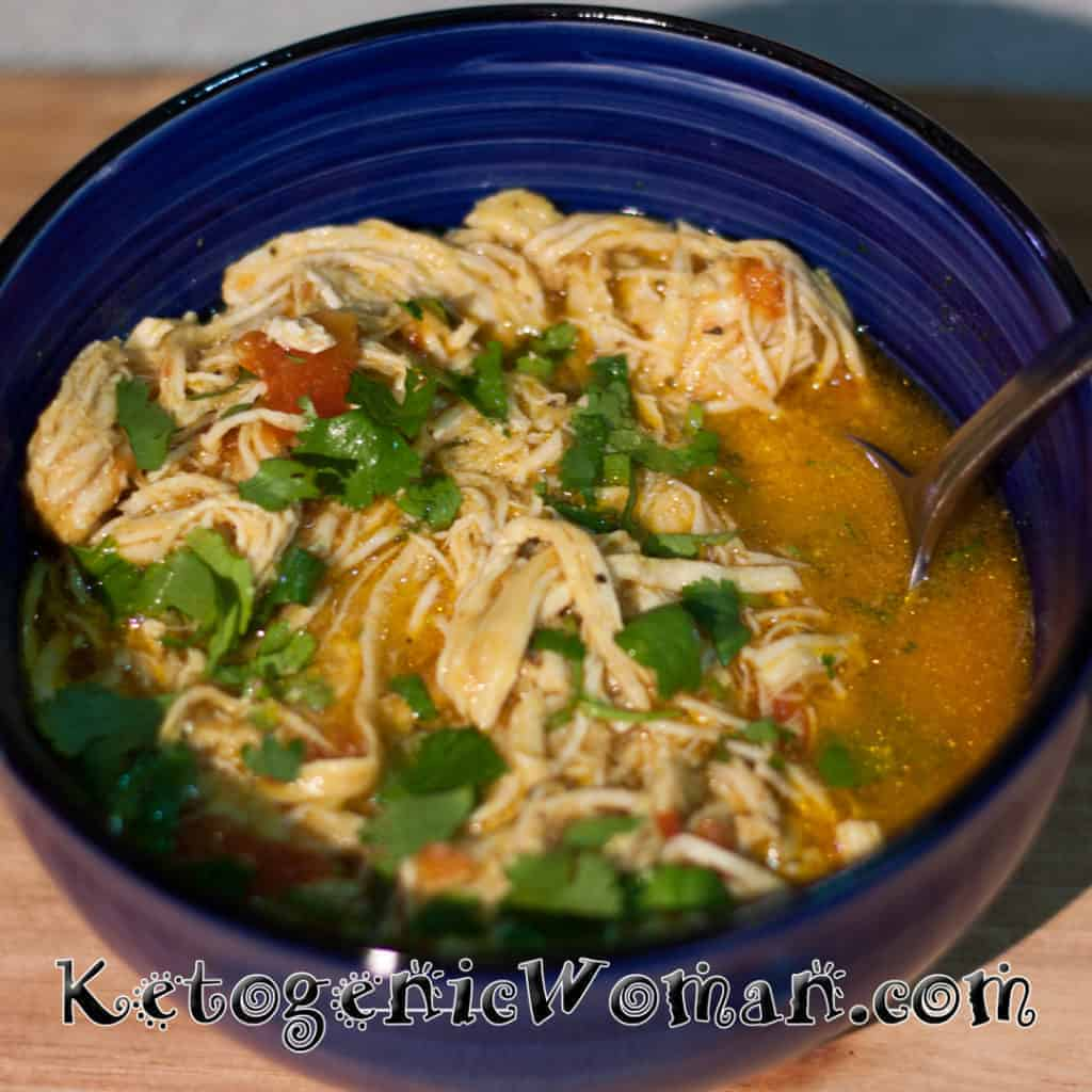 Instant Pot Coconut Curry Chicken Soup