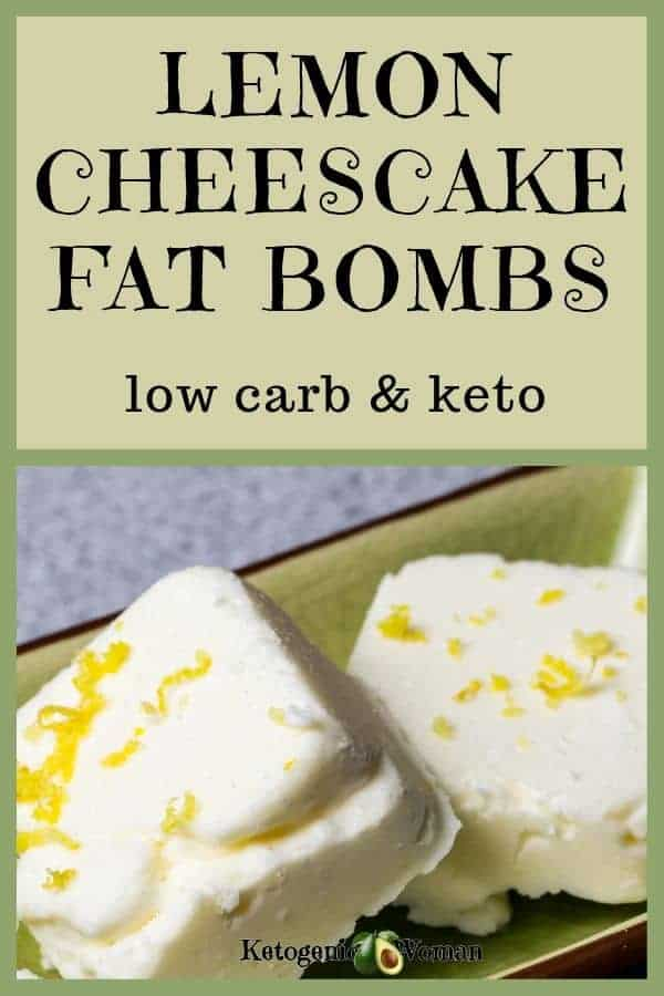 egg fast lemon cheesecake fat bombs low carb