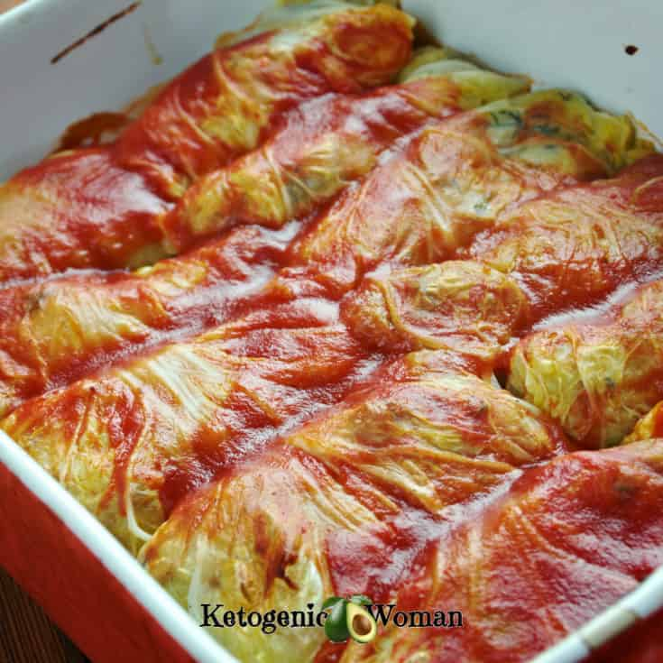 Easy Keto Cabbage Rolls Better Than My Russian Grandmother S Ketogenic Woman