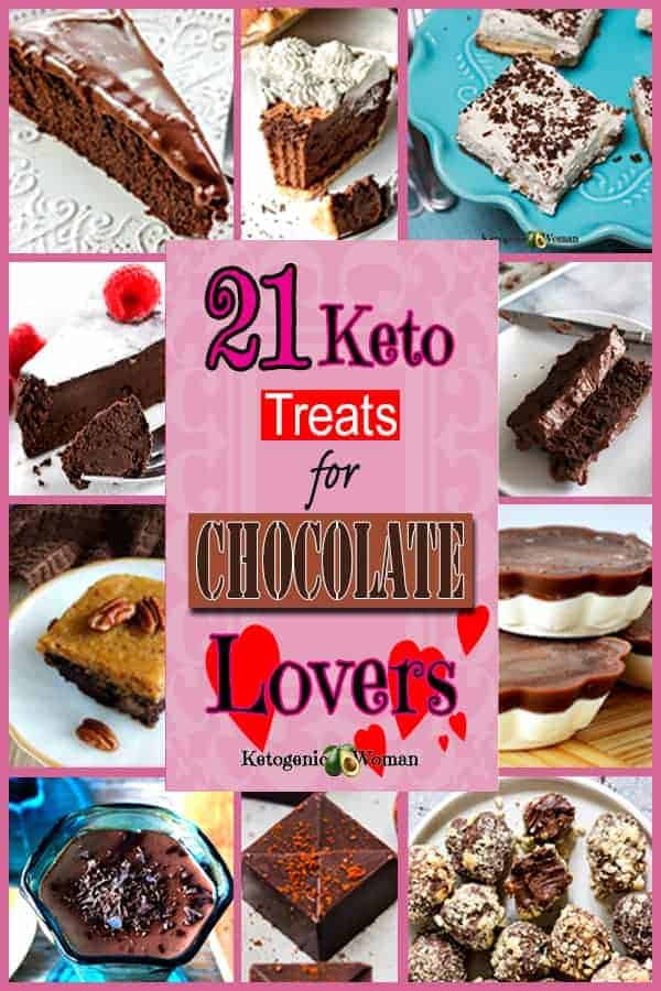 Keto Low Carb Chocolate Desserts for Valentine's Day