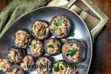 Keto Turkey Stuffed Portobello Mushrooms