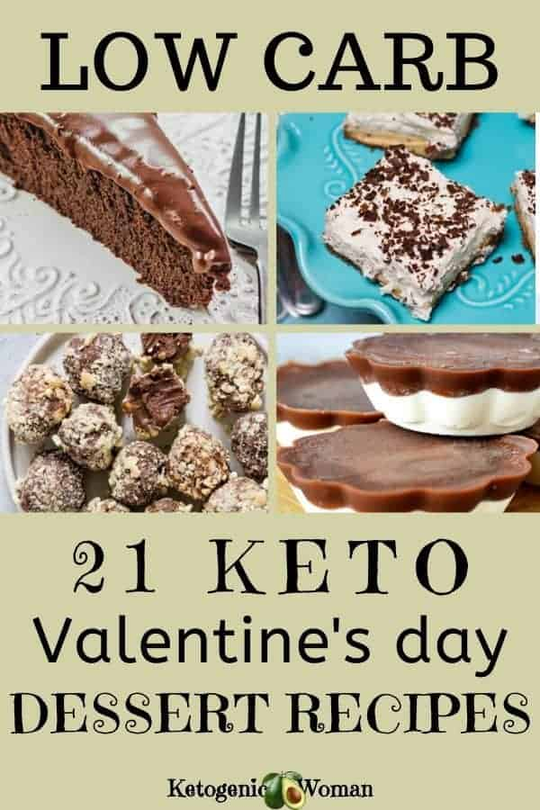 Low carb keto valentine's day dessert recipes