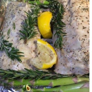 Lamb and Asparagus Sheet Pan