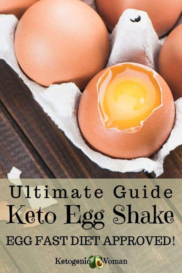 The Ultimate Guide to the Keto Egg Shake. Try a delicious egg fast recipe with this easy Keto egg fast shake recipe and guide.