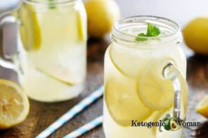 Homemade electrolyte drink for keto flu