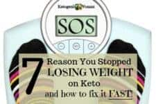 How do you break a weight loss plateau? Can you be in Ketosis and still not lose weight?