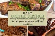 Keto coffee dry rub for summer grilling