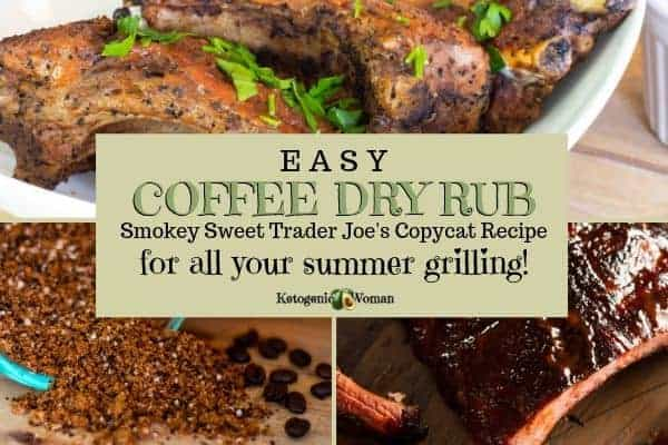 Keto coffee dry rub for summer grilling
