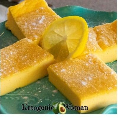 Egg Fast Lemon Bars