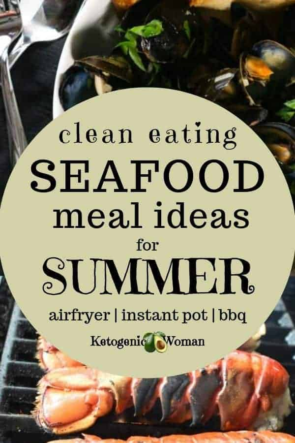 Keto seafood and fish dinners