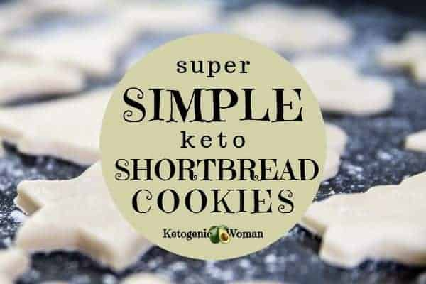 Simple keto and low carb shortbread cookies make fantastic keto desserts.