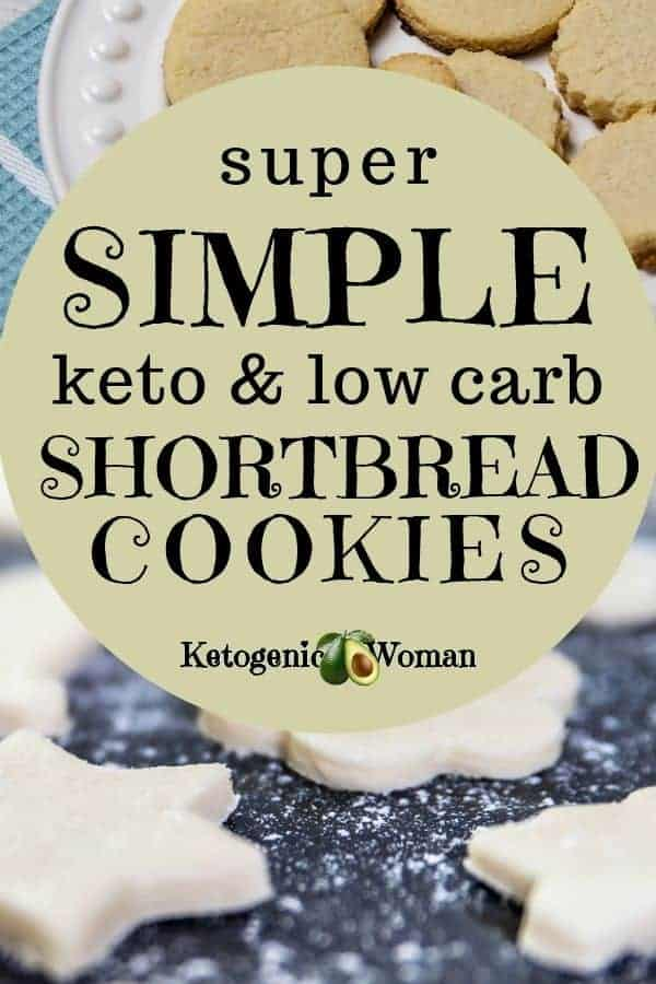Want a new easy keto cookie recipe? Simple and easy low carb, keto shortbread cookies make a delicious and guilt free snack.