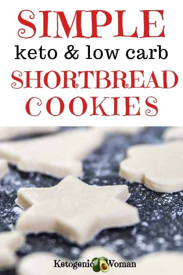 Want a new easy keto cookie recipe? Simple and easy low carb, keto shortbread cookies make a delicious and guilt-free snack.