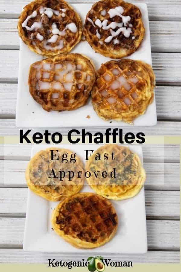 keto egg fast chaffles